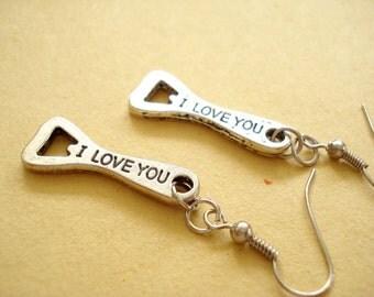 I Love you Earring -DE-396