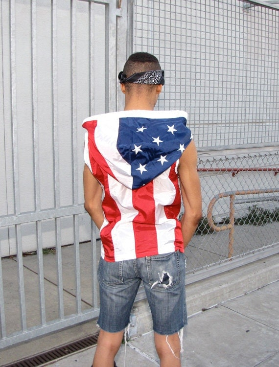 Men's American flag clothing can be stylish, cool and comfortable year round, so don't miss out on the chance to add a few key items to your wardrobe in advance of the next Independence Day. If your feeling extra thoughtful, check out our Women's American flag clothing for your significant other.