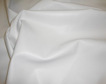 Vinyl Leather faux White 2 Way Stretch Upholstery Faux Leather vinyl fabric per yard