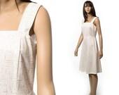 Summer day dress full skirt size Small