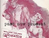 INSTANT DOWNLOAD 1956 Vintage Romantic Piano Sheet Music Cover, Digital Ephemera, Movie Music .jpg, scrapbooking, Valentine's Day