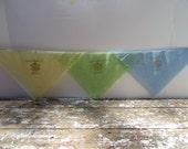 Vintage Handkerchief Military Handkerchief Mother Hankie Camp Pickett, VA