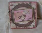 Tea Party mini scrapbook album