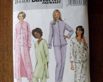 Butterick Fast and Easy PJs and Robe