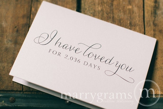 wedding card to your bride or groom i have loved you for etsy