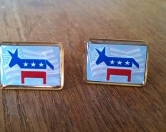 Democrat Cufflinks