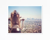 View from the Top, Los Angeles- Print - Typography - Wall Art - Home Decor