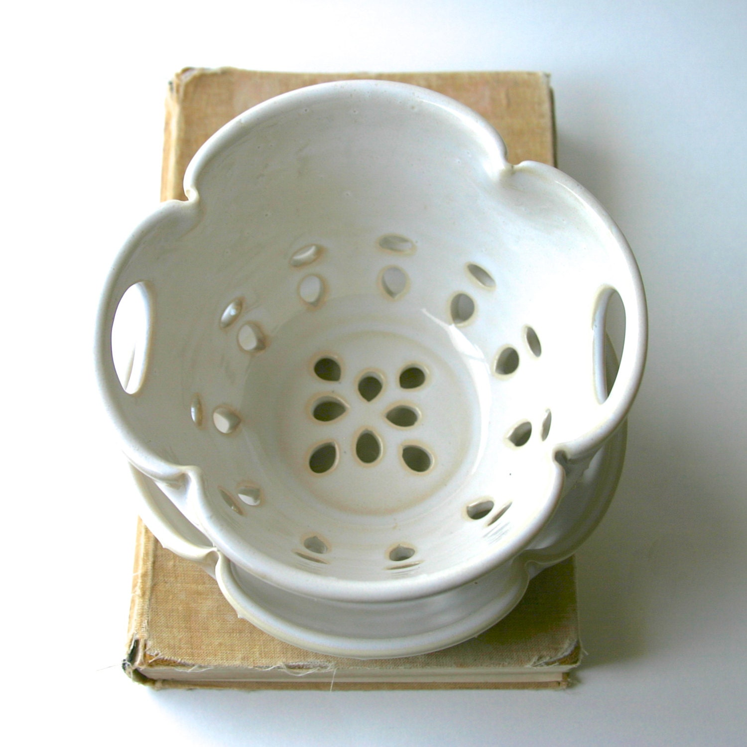 Special Order For Toni Ceramic Colander Berry Bowl With
