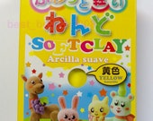 Daiso Japan Yellow Color Soft Modeling Clay Made in Japan