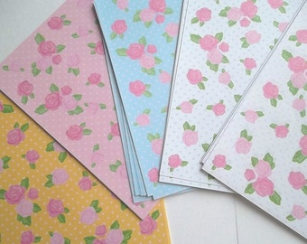 Fast Shipping Brand New Floral Pattern Chiyogami Origami Paper 100 sheets