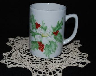 Custom Hand Painted Porcelain Mug