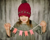 Sweet Heart Slouchy Hat Crochet Pattern