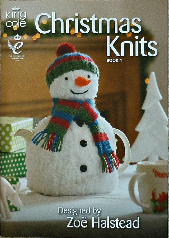 Xmas Knitting Gifts : Christmas gifts knitting pattern book knits