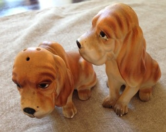 Adorable Hounds Set of Salt and pepper shakers