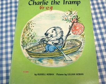 charlie the tramp, vintage 1966 children's book