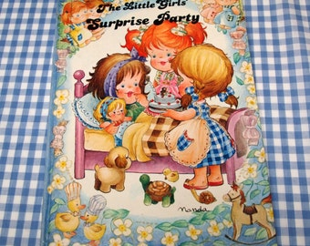 the little girls' surprise party, vintage 1984 children's book