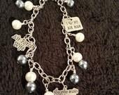 Air Force Wife Charm Bracelet