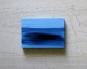 Painting - Seascape - Blue - Original Abstract Painting on Wood -- Sea XIII -- OOAK