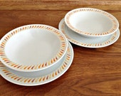 Duet Accent China Plates Bowls