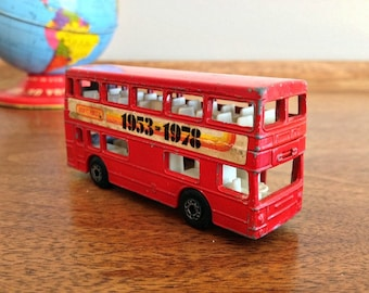Vintage Matchbox Double Decker Bus The Londoner  1953-1978