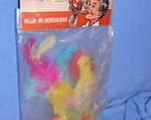 Vintage 5 and Dime Store Toy Mint in Package CRYING ROOSTER Whistle