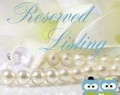 Reserved Listing for Sabrina - Final