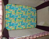 Pack N Play Flannel Mattress Sheet Form Fit Pocket Corner Boy Girl Gender Neutral Baby Infant Custom Made