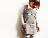 Baby Mouse dress up play dress in grey