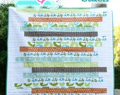 PDF Quilt Pattern- Zebra Stack an Easy and Modern Quilt Pattern