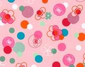Hello Tokyo Cherry Blossoms on Pink from Robert Kaufman