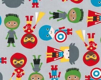 Super Kids on Grey from Robert Kaufman