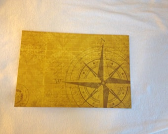 Passport Cover Compass Travel (#58)