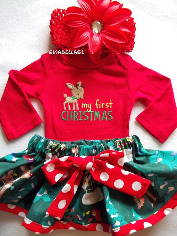 You searched for: baby first christmas! Etsy is the home to thousands of handmade, vintage, and one-of-a-kind products and gifts related to your search. Christmas outfit - Baby's first christmas - Baby girl christmas outfit - Baby boy christmas outfit - Santa belt - Funny Christmas outfit PenguinsPineapples. 5 out of 5 stars (1,) $.