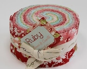 Ruby jelly roll - rare OOP by Bonnie and Camille for Moda