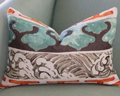 Enter the Dragon Chinoiserie Cushion Pillow Cover by Jim Thompson