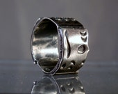 Sterling Silver Ring Handmade Solid Silver Band Size 7 Ring Taxco Mexico Nice Quality DanPickedMinerals