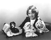 Pdf Pattern. KATHY'S PUPPET BABIES Adorable Crochet Pattern from J A O Enterprises - 3 Designs - Crochet Hand Puppet Doll Patterns