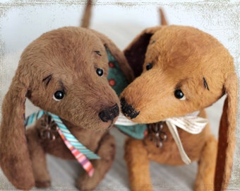 PATTERN Download to create Teddy like Dachshund 9 inches