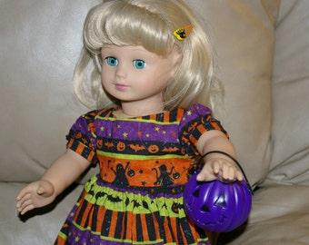 Halloween dress for 18 inch doll
