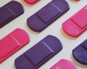 Bandage Crayons - Set of 8 (4 Pink and 4 Light Purple) - Great for a Doc McStuffins Party