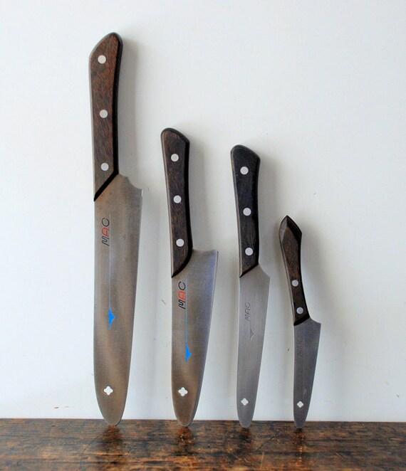vintage the original mac series chef knives set. Black Bedroom Furniture Sets. Home Design Ideas