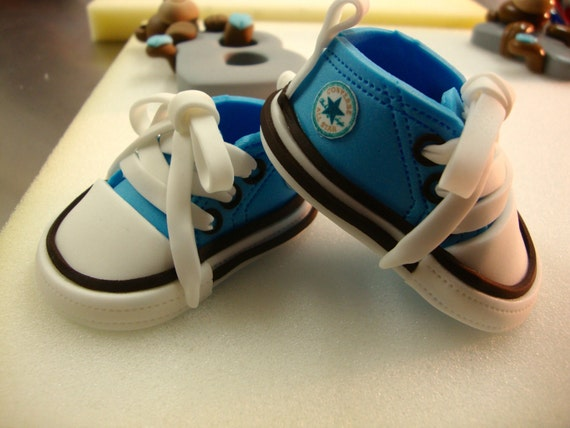 Baby Converse Cake Topper