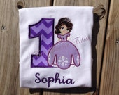Sofia The First birthday top-choose your number