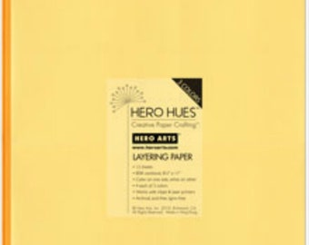 Hero Arts Sunshine Layering Paper