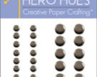 SALE Hero Arts Pewter Metallic Decor CH202 Embellishments Retired