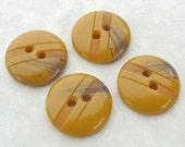 Buttons Buterscotch Black 18mm (4)
