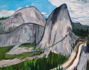 "Yosemite National Park. Oil on Canvas. 16"" x 20"""