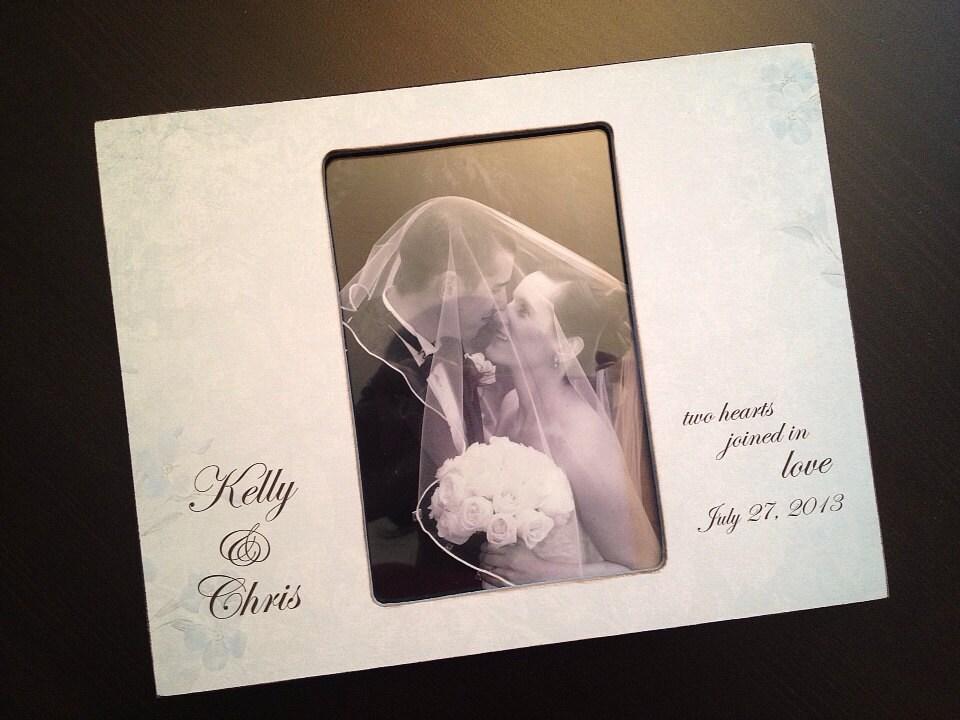 Personnalis mariage cadeau souvenir mariage cadeau mariage - Cadre photo mariage personnalise ...