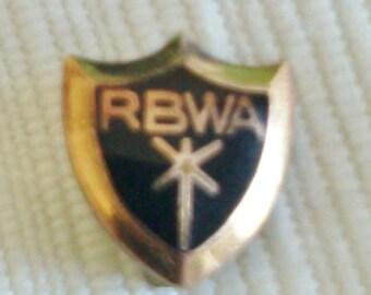 Small Shield Pin, RBWA
