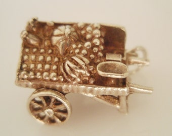 Silver Fruit and Vegtable Market Stall Charm